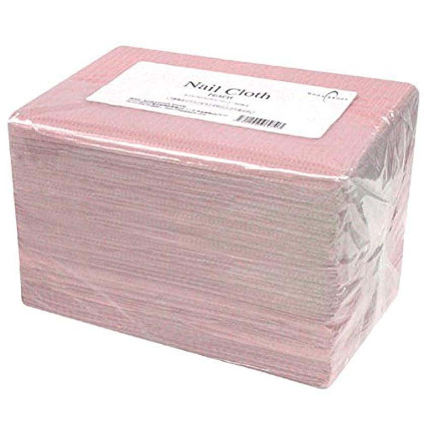 蒸気ピンク防止Calgel ネイルクロス 50枚 ピーチ