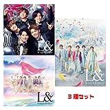King & Prince L& (限定A+限定B+通常) CD+DVD 3枚セット 先着特典なし