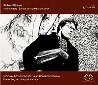 Strauss: Violinkonzert & Sonate fur Violine und Klavier by Thomas Albertus Irnberger (2013-11-07)
