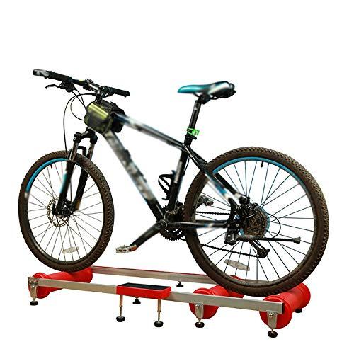 Kaibrite - Rodillo de entrenamiento plegable para bicicleta de montaña, aleación de...