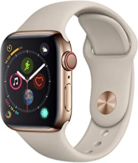 Apple Watch Series 4 40mm (GPS + Celular) - Caja De Acero Inoxidable En Oro / Oro Pulsera Milanese Loop (Reacondicionado)