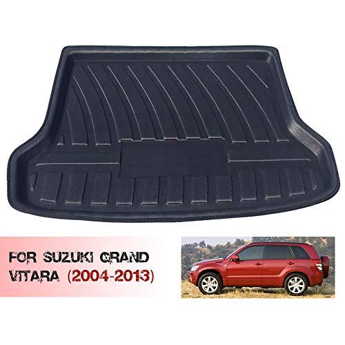 Alfombrilla para Maletero para La ModificacióN del Maletero de Suzuki Grand Vitara (2004-2013), Las Alfombrillas de Goma Impermeables Brindan ProteccióN contra Todo Clima