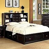 Furniture of America Yorkville Bed, Queen, Espresso Finish