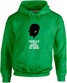 Brand88 - Smells Like Broke, Adults Hoodie
