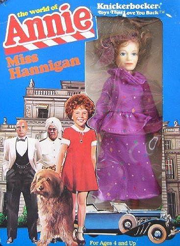 Peu Orphan Annie MISS HANNIGAN DOLL - The World of Annie (1982 Knickerbocker) by The World of Annie Miss Hannigan