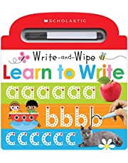 Learn to Write: Scholastic Early Learners (Write and Wipe)