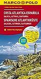 Marco Polo Spaans-Atlantische kust - Galicië - Asturië - Cantabrië: Wegenkaart 1:300 000