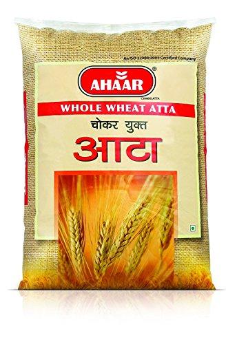 Ahaar Whole Wheat Flour (Chokar Yukt Atta ), 10kg