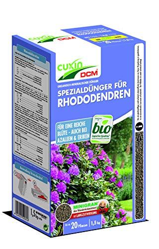Cuxin Spezialdünger für Rhododendren, Azaleen, Eriken, 1,5 kg