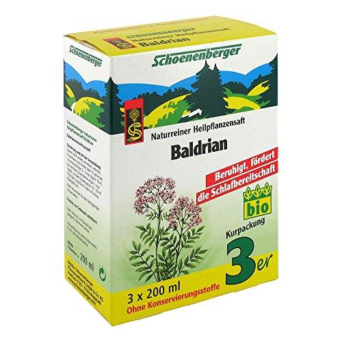 Schoenenberger Baldrian naturreiner Heilpflanzensaft, 600 ml Lösung