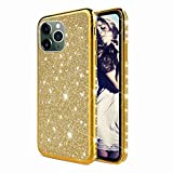 TYWZ Scintillement Coque pour iPhone 11 Pro Max,Ultra Mince Slim Brillant Diamant Glitter Strass...