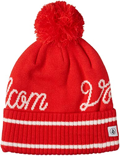 Volcom Script Beanie -Snow 2019-(K5851908_CMS) - Crimson - One Size