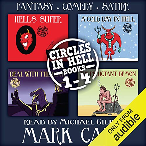 Circles in Hell, Books 1-4 Audiobook By Mark Cain cover art