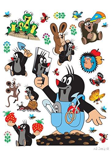 Wand Sticker DK 1787 kleine Maulwurf