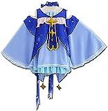 LYDHDY Anime Hatsune Miku Cosplay Disfraz, Snow Miku Cosplay Uniforme Usado para Mujeres Halloween Christmas Carnival Theme Party (Color : Blue, Size : L)
