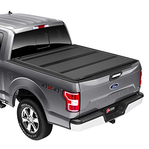 "BAK BAKFlip MX4 Hard Folding Truck Bed Tonneau Cover | 448329 | Fits 2015 - 2020 Ford F150 5' 7"" Bed (67.1"")"