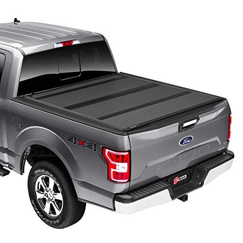 "BAK BAKFlip MX4 Hard Folding Truck Bed Tonneau Cover | 448329 | Fits 2015 - 2020 Ford F150 5' 7"" Bed (67.1"")"