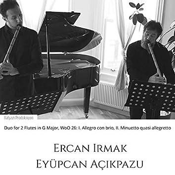 Duo for 2 Flutes in G Major, Woo 26: I. Allegro Con Brio - II. Minuetto Quasi Allegretto