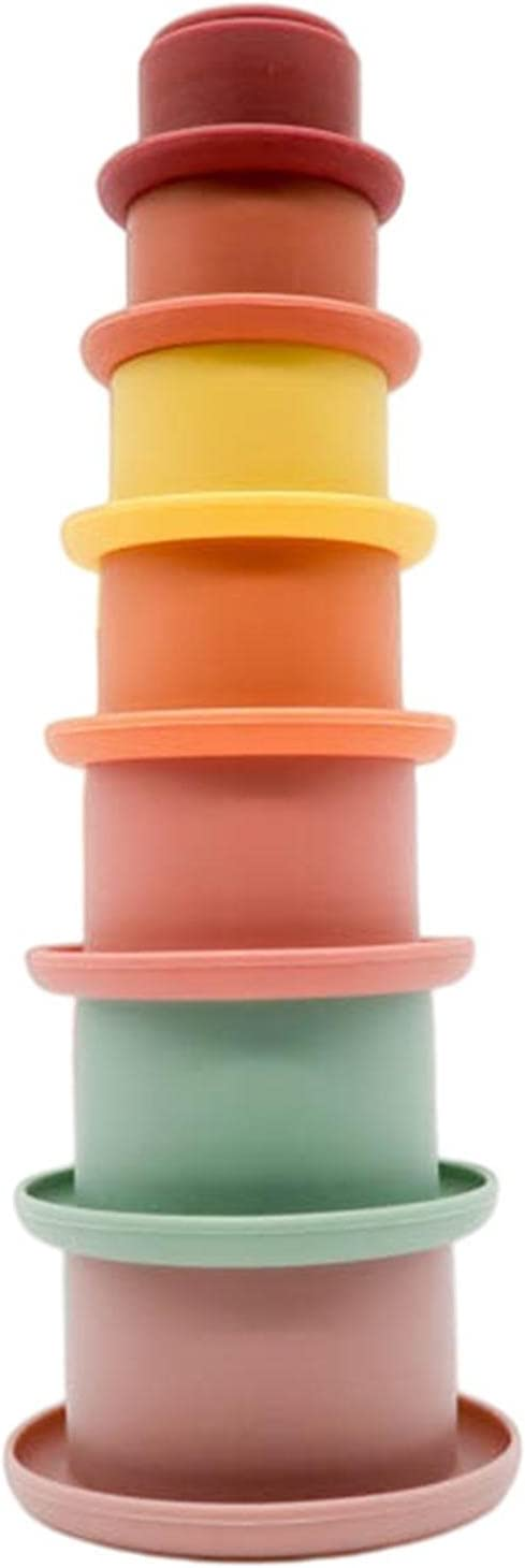 Stack Up Cup Max Shipping included 81% OFF Stacking Toys - Baby Set Toy Building Silicone
