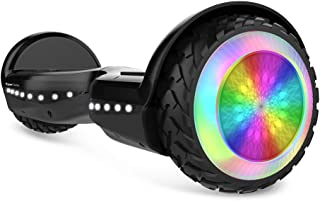 HYPER GOGO Hoverboard, Off Road All Terrain Hoverboards with Bluetooth Speaker,UL Certified, Charger, 6.5 Inches Self Balancing Scooter for Kids to Happy Go