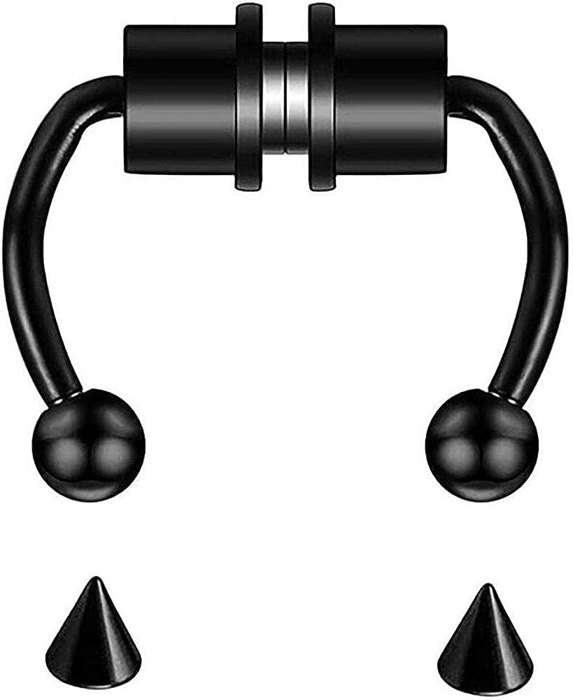 Fake Nose Rings Regular store Piercing Kit Jewel Body Steel Stainless New sales