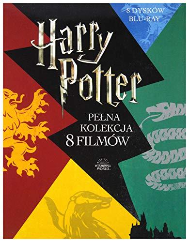 Harry Potter - Complete 8-film Collection (BOX) [8Blu-Ray] [Region Free] (IMPORT) (Keine deutsche Version)
