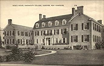 Dick's House at Dartmouth College Hanover, New Hampshire Original Vintage Postcard