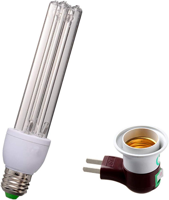 Mena Uk Tragbarer Ozon-UV-Sterilisator-Licht-Luftdesinfizierer-Reiniger-Kühlschrank-Desodorierungsmittel-Formaldehyd-Entferner-Milben-Mrder-Geruch-Abbau für Haustier-Bereich Luft-Reinigungs-Lampe