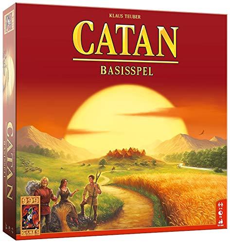 999 Games 999-Kol01B Catan Bordspel Bordspel, Alle Kleuren
