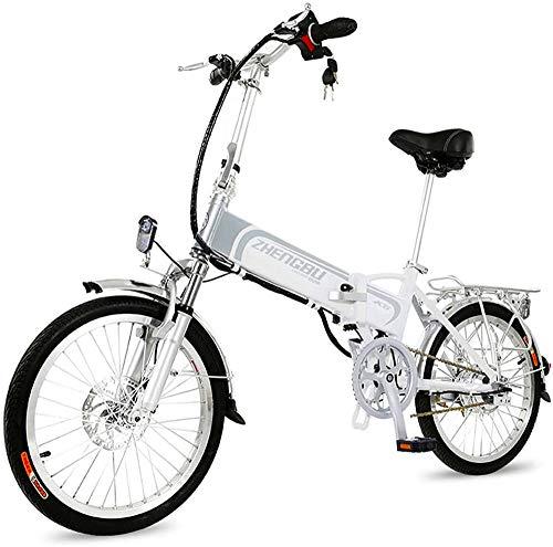 Bicicleta de montaña eléctrica, Bicicleta eléctrica, 36V400W motor, la batería de litio 14.5AH 60KM asistida, Estructura de aleación de aluminio es plegable, conveniente for los hombres y las mujeres