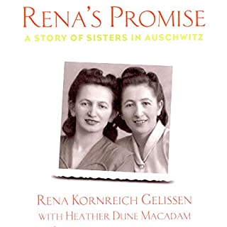 Rena's Promise audiobook cover art