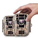 Best Hd Trail Cameras - 【2 Pack 】 Campark Mini Trail Camera 16MP Review