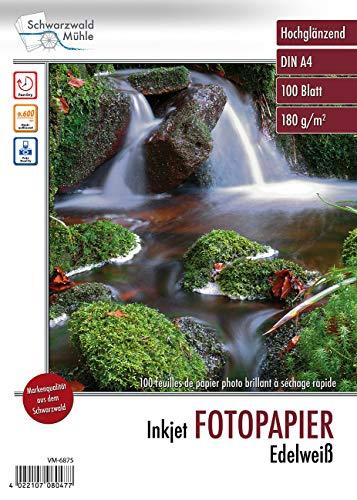 Schwarzwald Mühle Photopapier: Hochglanz-Fotopapier