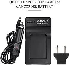 ARCHE NP-FM500H BC-VM10 AC-SQ950 Rapid Charger for [Sony Alpha SLT A57 A58 A65 A77 A77V A77II A99 A350 A450 A500 A550 A700 A850 A900 CLM-V55 DSLR Camera & VG-C77AM Grip]