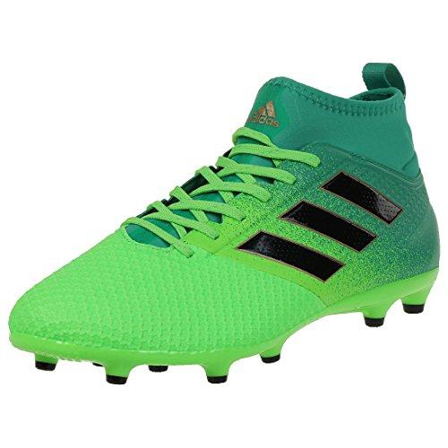 adidas Men's Ace 17.3 Primemesh Fg for Soccer Training Shoes, Green (Versol/Negbas/verbas), 9 UK