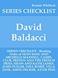 David Baldacci - SERIES CHECKLIST - Reading Order of SEAN KING AND MICHELLE MAXWELL, CAMEL CLUB, FREDDY AND THE FRENCH FRIES, SHAW AND KATIE JAMES, JOHN ... JANE, AMOS DECKER, ATL (English Edition)