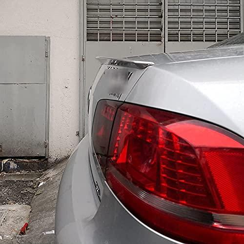 MJCDNB Alerón Trasero ABS para Passat B7 2012-2016, Parachoques de Coche, Maletero, Puerta Trasera, Tapa del Maletero, Ventana, Labio, Parabrisas, ala, Accesorios de Estilo