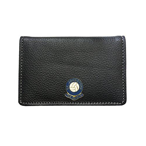 St Johnstone Football Club Leather Card Holder Wallet