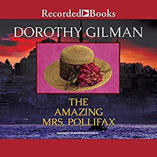 The Amazing Mrs. Pollifax audiobook cover art