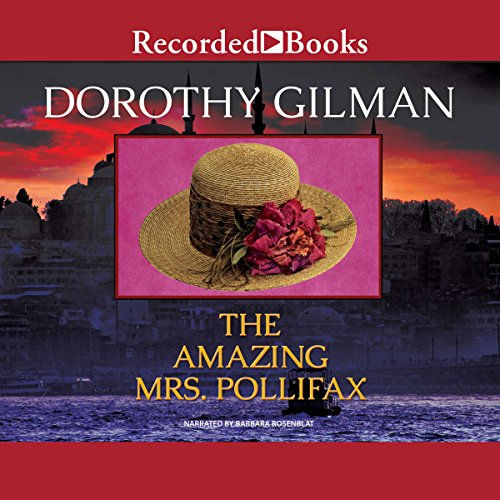 The Amazing Mrs. Pollifax cover art