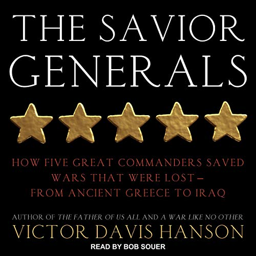 The Savior Generals audiobook cover art