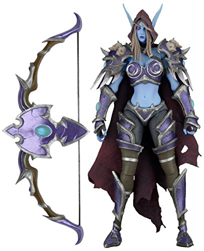 NECA Heroes of The Storm Series 3 Sylvanas Action Figure, 7'
