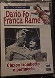 Claxon trombette e pernacchi - Il teatro di Dario Fo e Franca Rame con libro