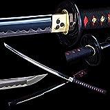 Best Handmade Sword Katana Swords - OYZ Handmade Japanese Katana Sword 1045 Carbon Steel Review