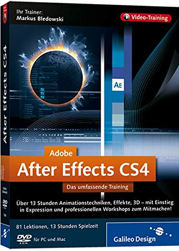 Adobe After Effects CS4 - Das umfassende Training auf DVD [import allemand]