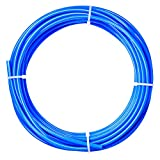 Tailonz Pneumatic Air Line 1/4 inch od Blue Pneumatic Nylon Tube 32.8ft Air Brake Tubing Nylon Hose