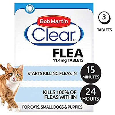 Bob Martin Flea Tablets for Cats and Small Dog Under 11 Kg by Bob Martin