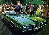 1968 Pontiac Firebird Promotional Advertising Poster