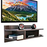 𝐄𝐲𝐞 𝐂𝐚𝐭𝐜𝐡𝐢𝐧𝐠 𝐃𝐞𝐬𝐢𝐠𝐧 Designed for use with set top box, wifi router DVD players, DVR, HD recorders, Cable boxes, MP3, Speakers, Gaming Consoles (Xbox, PlayStation, Nintendo, etc) and other audio video equipments. 𝐏𝐞𝐫𝐟𝐞𝐜𝐭𝐥𝐲 𝐅𝐢𝐭𝐬 𝐨𝐧 𝐰𝐚𝐥𝐥 The open storag...