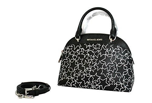 "MEASUREMENTS :9""X6""X2.5"" .Small dome satchel . beautiful printed leather, Top handle with removable shoulder strap.Bottom feet. Interior: 1 slip pocket, 1 zip pocket. Exterior:1 big front pocket , 1 small back pocket. Authentic. NEW STYLE 2017/2018"